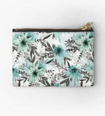 Blue asters Studio Pouch