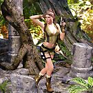 Lara Croft by Bowski