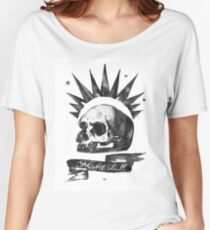 LIFE is STRANGE · Chloe Price's t-SHIRT 'MISFIT SKULL' Women's Relaxed Fit T-Shirt