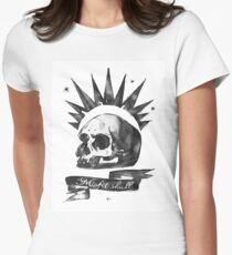 LIFE is STRANGE · Chloe Price's t-SHIRT 'MISFIT SKULL' Women's Fitted T-Shirt
