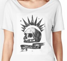 LIFE is STRANGE · Chloe Price's t-SHIRT 'MISFIT SKULL' Women's Relaxed Fit T-Shirt