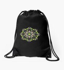 Snowflake  Drawstring Bag