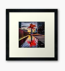 Pegasus Relection Framed Print