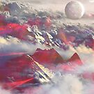 Above the clouds by mikath