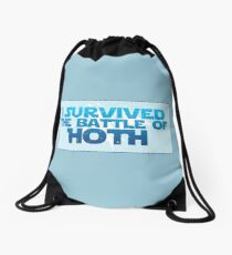 I Survived The Battle of Hoth Drawstring Bag