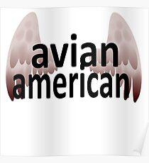 Avian American Poster