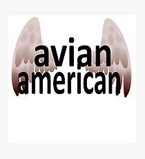Avian American Photographic Print