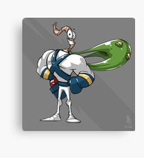 0002 - Earthworm Jim Canvas Print