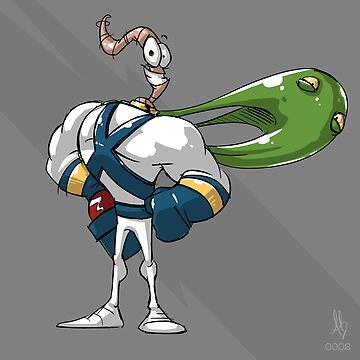 0002 - Earthworm Jim by brownbair