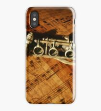 Clarinet Notes iPhone Case/Skin