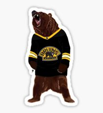 Boston Bruins Bear Sticker