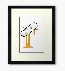 Patch Up (Orange) Framed Print