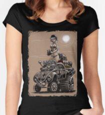 Desert Bettle Women's Fitted Scoop T-Shirt