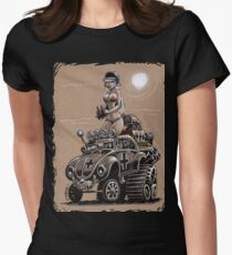 Desert Bettle Womens Fitted T-Shirt
