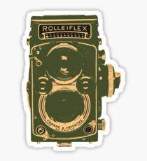 Rolleiflex Sticker