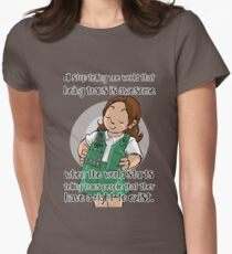 Being trans is awesome t-shirt Women's Fitted T-Shirt