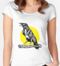 Black Crow Women's Fitted Scoop T-Shirt