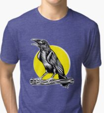 Black Crow Tri-blend T-Shirt