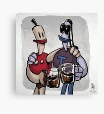 0010 - Buds Sharin' Suds Canvas Print