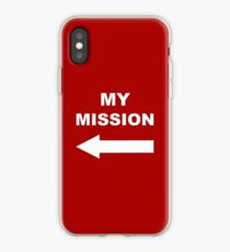 My mission iPhone Case