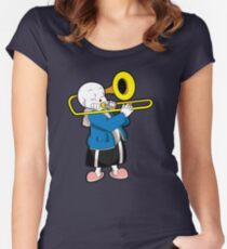 Undertale Sans Women's Fitted Scoop T-Shirt