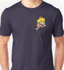 Pocket Peach Unisex T-Shirt