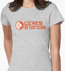 ceres station Women's Fitted T-Shirt