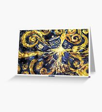 Exploding TARDIS Doctor Who 50th Anniversary Greeting Card
