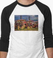 Steam Power Men's Baseball ¾ T-Shirt