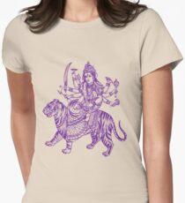 DURGA-4 Women's Fitted T-Shirt