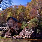 Glade Creek Grist Mill by thatstickerguy
