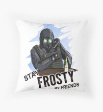 """Counter Strike GO """"Stay Frosty"""" Throw Pillow"""