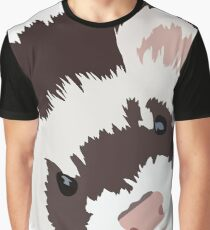 Ferret head Graphic T-Shirt