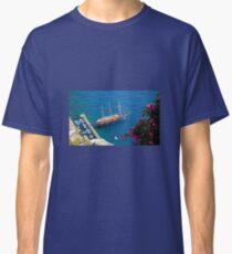 Santorini Island Greece Classic T-Shirt