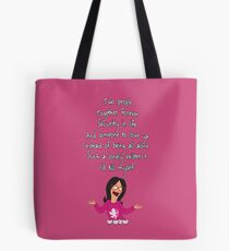 Linda's Song of Love Tote Bag