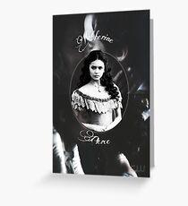 Katherine Pierce Merchandise || TVD Greeting Card
