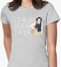La-Di-Da Annie Hall Womens Fitted T-Shirt
