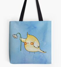 Cheeky the Cockatiel Tote Bag