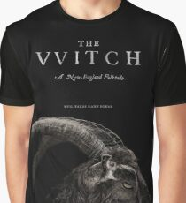 The Witch stylized as The VVitch horror movie Graphic T-Shirt