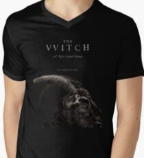 The Witch stylized as The VVitch horror movie Men's V-Neck T-Shirt