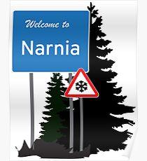 Narnia traffic Poster
