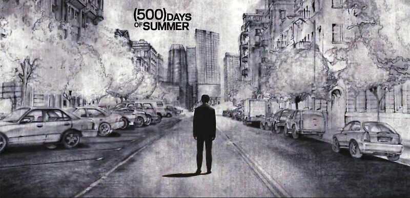 500 Days Of Summer Lonely Tom Sketch By Sfrayne