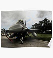 F16 jet fighter Poster