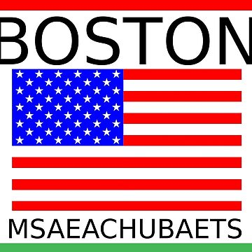 BOSTON, MSAEACHUBAETS by hisoutensoku