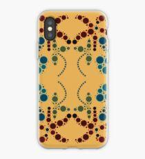Flower Symmetry 70's iPhone Case