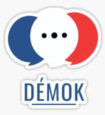 Démok! Votre application de consultation citoyenne Sticker