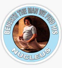 NUCLEUS BENEATH THE CLOTHES Sticker