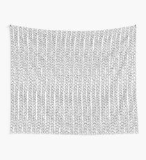 Knit Outline Wall Tapestry