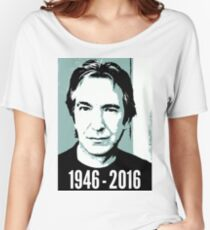 Rest In Peace, Alan Rickman Women's Relaxed Fit T-Shirt