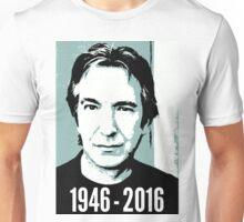 Rest In Peace, Alan Rickman Unisex T-Shirt